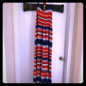 Red, White, & Blue Parker Maxi Dress Size S